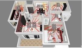 Riscaldamento pannelli a raggi infrarossi di Infralia