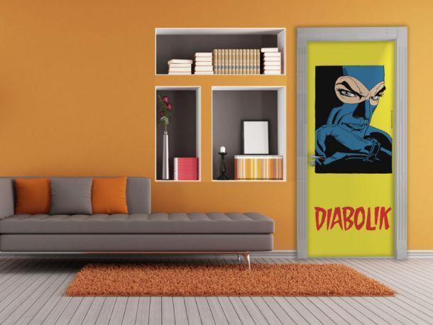 cover adesiva di MyCollection serie Diabolik