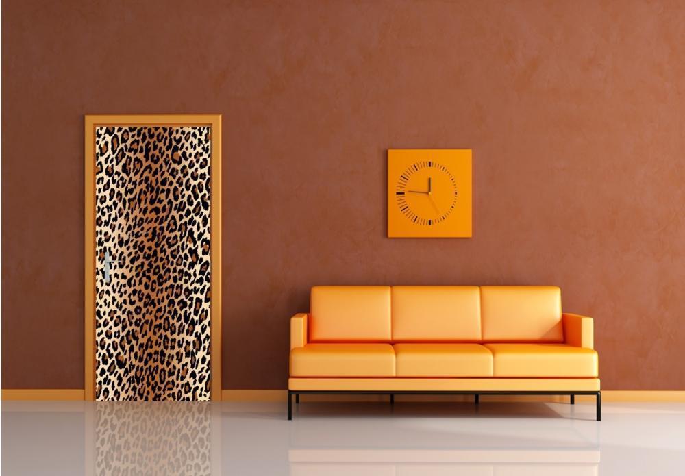 Foto cover adesive per porte interne for Decorazioni adesive per bagno