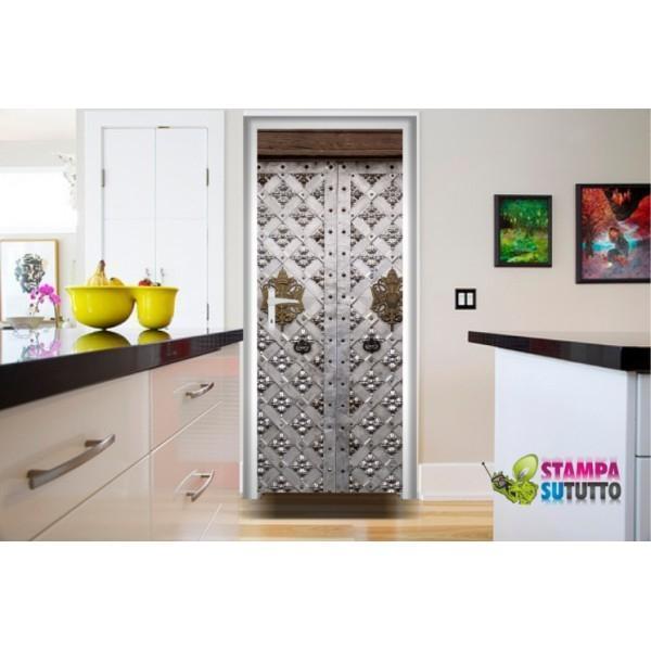 Foto cover adesive per porte interne - Decorazioni porte interne ...