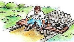 Come costruire un vialetto con i mattoni nel giardino