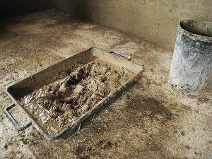 Intonaco in argilla architetto Luca Maioli