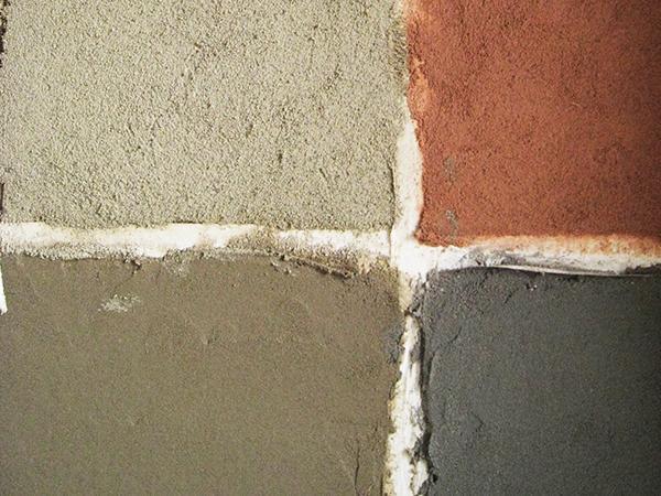 Finiture intonaco in argilla