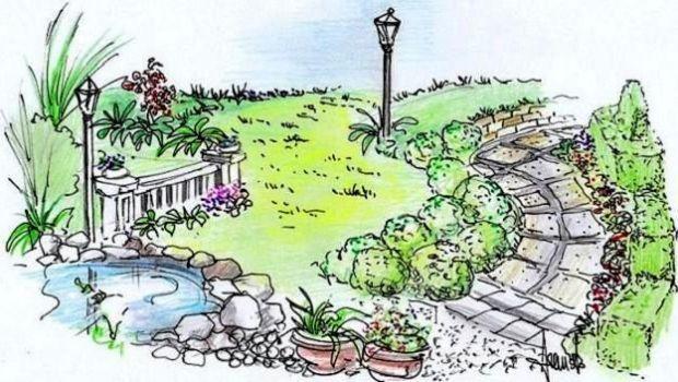 giardino: un progetto per gli spazi esterni - Come Progettare Un Giardino Rettangolare