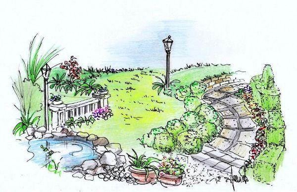 giardino un progetto per gli spazi esterni