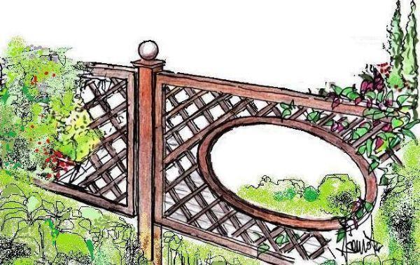 Recinzioni di legno in giardino soluzioni progettuali for Recinzioni in legno per giardino