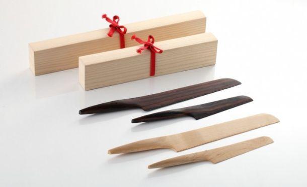 Coltelli giapponesi in legno Fusion di Andrea Ponti