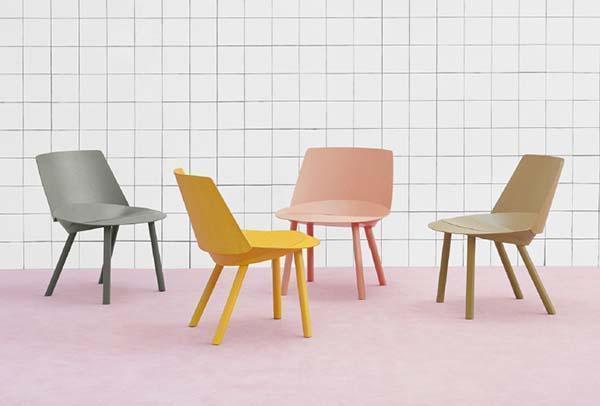 Sedie in legno di design per il soggiorno for Sedie per soggiorno legno