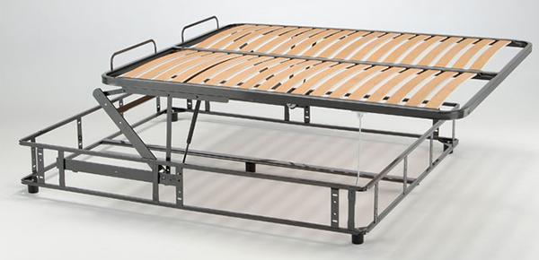 Movimenti per letti ribaltabili - Rete per letto contenitore ...