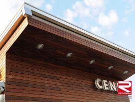 Facciata ventilata in legno di Ravaioli Decking Building®