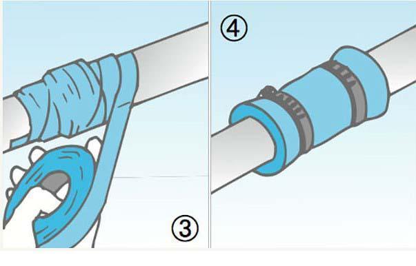 Riparare un tubo in fai da te for Collegamento del tubo di rame al pvc