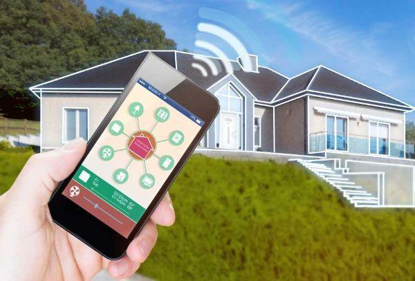 Impianto domotico wireless: gestione da remoto