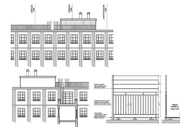Trasformare lastrico in terrazza. Architetto Luca Maioli