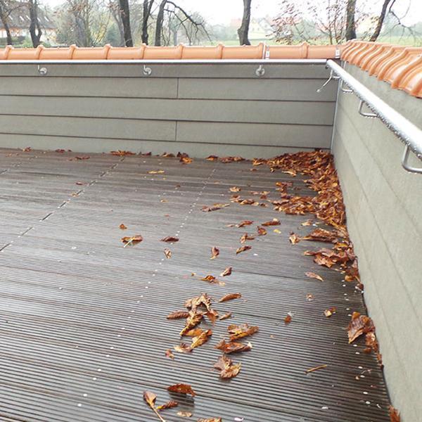 Trasformare lastrico solare in terrazzo. Prewood