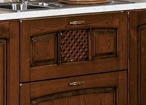 Cucine in legno naturale Focolare di Stosa