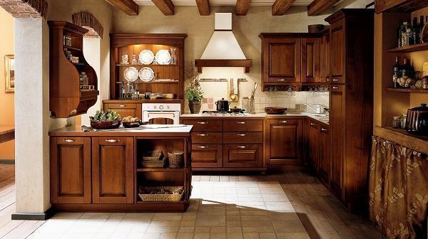 Cucine in legno naturale: Veneta Cucine, Verdiana