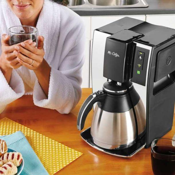 Macchina per caffè Mr Coffee Mr. Coffee 10-Cup Smart Optimal Brew Coffeemaker WeMo di Belkin