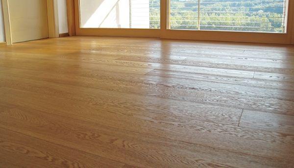 Esempio di pavimento resiliente di  Schiocchet pavimenti