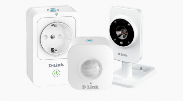 Kit smart per la sicurezza di casa D-Link