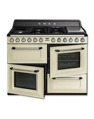 Cucine shabby chic: Smeg, cucina TR4110P Victoria