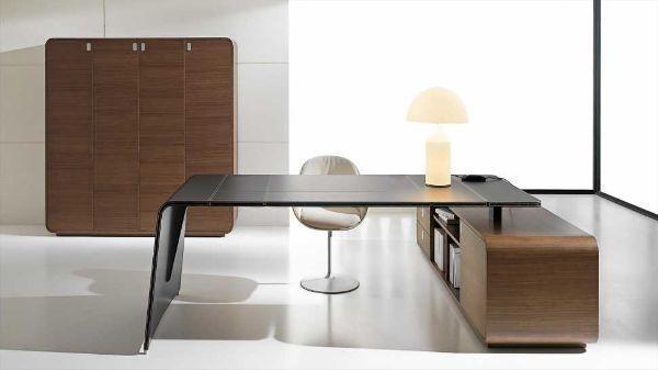 Scrivanie per l 39 ufficio for Consolle scrivania moderna