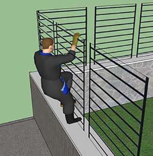 Predisporre un muretto per i vari tipi di recinzione - Recinzioni per piscine ...