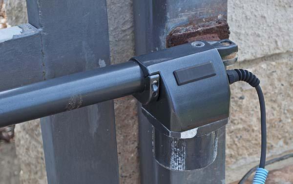 Cancello elettronico, particolare