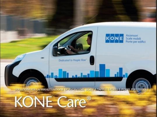 Manutenzione cancelli servizio KONE Care