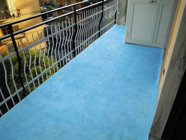 Rivestimenti Balconi Esterni : Pavimento in resina da esterni in fai da te