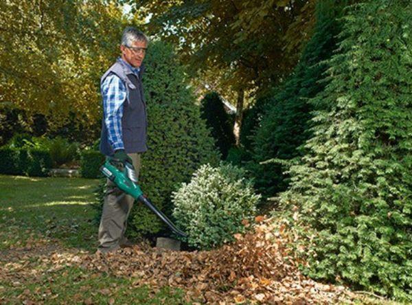 Soffiatori aspiratori per le foglie del giardino