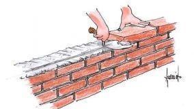 Malta per murature: tecniche di posa dei mattoni a vista