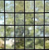Semplici vetri piombati ottenuti a soffio