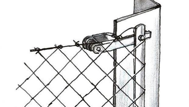 Costruire recinzioni di rete metallica in fai da te
