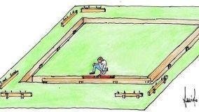 Fondamenta dei muretti esterni: fasi di costruzione