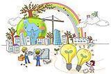 Il sistema LEED classifica l'efficienza energetica e l'impronta ecologica degli edifici.