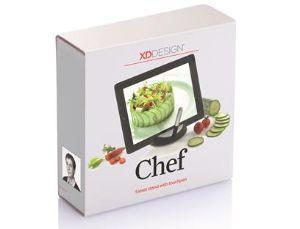 Supporto per tablet in cucina: Chef di XD Design.com (confezione)