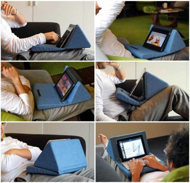 Morbido cuscino supporto per tablet, Pad Pillow di Amazon.it