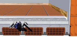 Pannelli in  EPS T, per isolamento nei pavimenti di Isolante Srl