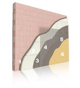 Pannelli in EPS come isolante, stratigrafia  di Poliart