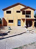 Edificio in fase di lavori in corso