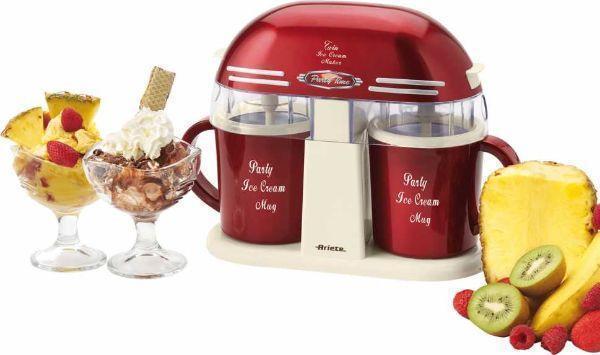 Macchina per gelato Ariete per fare due gusti Twin Ice Cream Maker