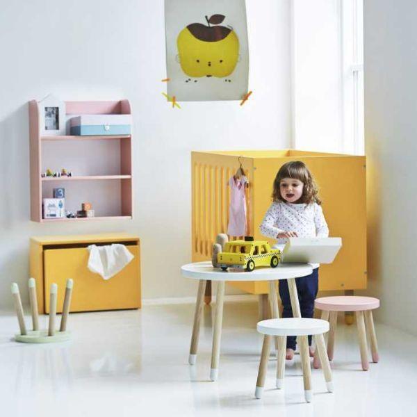Tavolo per bambini colorato Flexa,