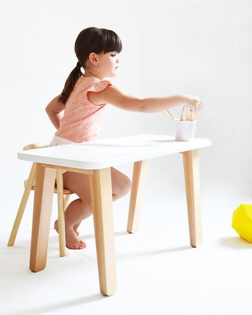 Tavolino in legno per bambini, Family Nation