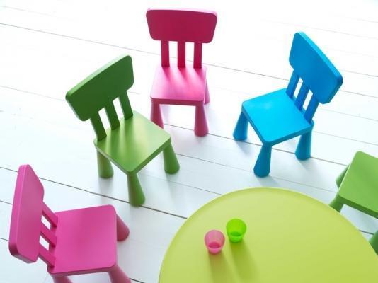 Tavolo per bambini in plastica, Ikea