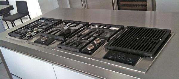 Piani cottura con doppio bruciatore for Bloccare i piani domestici