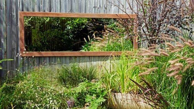 Specchi in giardino: come utilizzarli