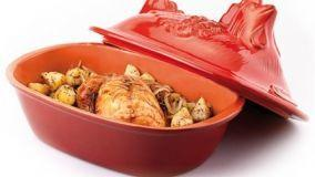 Cuoci pollo in cucina