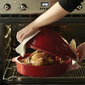Cuocipollo da forno in ceramica di Emile Henry