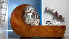 Librerie a spirale per un arredo creativo