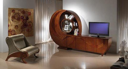 Libreria a spirale mod. Chiocciola di Carpanelli